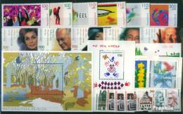 BRD (BR.Deutschland) 2000 Mit Nummer 2140 C Und D Postfrisch Kompletter Jahrgang In Sauberer Erhaltung - Deutschland
