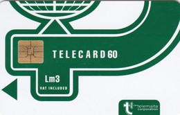 Malta, MT-MLT-0022A, Logo Green New Design With VAT., 2 Scans. - Malta