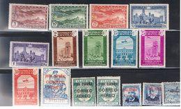 Timbres Espagne 1931-37 Neuf Et Oblitérés - 1931-Aujourd'hui: II. République - ....Juan Carlos I
