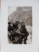 GRAVURE JOANNY DREVET - MONACO JUILLET 1932 - - Engravings