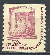 United States 1976. Scott #1615 (MNG) Drum - Rollen