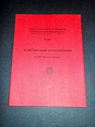 Militaria - Il Battaglione Genio Pontieri - 1^ed. 1989 - Documenti