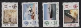 Seychelles - N°661 à 664 - Assurance Lloyd - Cote 14€ - Seychelles (1976-...)