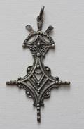 """Belle Médaille Argent 925 Poinçonné """"Croix D'Agadès - Croix Du Sud"""" Croix Des Berbères - Ethnics"""