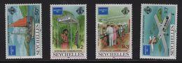 Seychelles - N°606 à 609 - Ameripex 86 - Cote 11€ - Seychelles (1976-...)