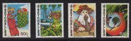 Seychelles - N°669 à 672 - Noel - Cote 8€ - Seychelles (1976-...)