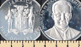 Jamaica 5 Dollars 1971 - Jamaica