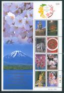 Thailand 2007 120Y Diplomatic Relations Japan Shtl Klbg MNH - Thailand