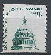 United States 1975. Scott #1616 (U) Dome Of Capitol - Rollenmarken