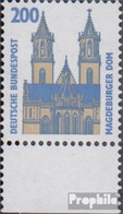 BRD (BR.Deutschland) 1665 Unterrandstück (kompl.Ausg.) Postfrisch 1993 Sehenswürdigkeiten - Nuovi