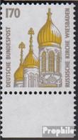 BRD (BR.Deutschland) 1535 Unterrandstück (kompl.Ausg.) Postfrisch 1991 Sehenswürdigkeiten - BRD