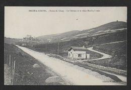 BERZE LE CHATEL - Le Château Et Le Vieux Moulin à Vent - France