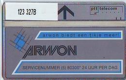 Telefoonkaart * ARWON * LANDIS&GYR * NEDERLAND * R-123 * 327B * Niederlande Prive Private  ONGEBRUIKT MINT - Nederland