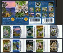 Deutschland Biberpost MH 'Harz-Nationalpark, Luchs Eule ...' / Germany Bklts 'Harz Nat'l Park, Lynx Owl ...' **/MNH 2017 - Postzegels