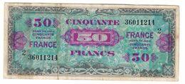France 50 Francs 1944 2 - Treasury
