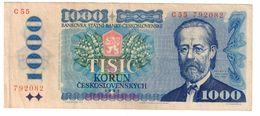 Czechoslovakia 1000 Korun 1985 - Cecoslovacchia