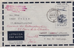 POLOGNE  : Entier Postal Pour La France - Covers & Documents