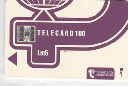 Malta, MT-MLT-0015?, Logo Blue - New Design, 2 Scans.    Chip SC7   Orange Printed Control Number: C+8 Digits. - Malta