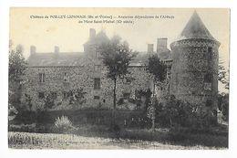 Château De POILLEY-LIONNAIS  (cpa 35)  Ancienne Dépendance De L'abbaye Du Mont St-Michel (XI° Siècle) -   - L 1 - Andere Gemeenten