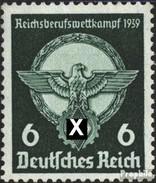 Deutsches Reich 689 Postfrisch 1939 Berufswettkampf - Ungebraucht