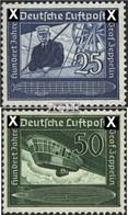 Deutsches Reich 669-670 (kompl.Ausg.) Postfrisch 1938 Graf Zeppelin - Deutschland