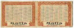 CALENDARIETTO PANETTONE MOTTA MILANO ANNO 1932 LEONARDO DA VINCI - Formato Piccolo : 1921-40