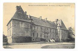 Environs De SAINT-AUBIN-D'AUBIGNE  (cpa 35)  Le Château De La Magnane (façade Est) -   - L 1 - Autres Communes