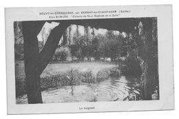 72 - NEUVY En CHAMPAGNE Par BERNAY En CHAMPAGNE - Clos St Michel - SCOUTS Colonie De St.J. Baptiste - Baignade - France