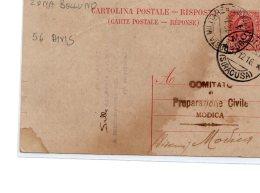 Italie , Carte Postale  Zone De Guerre 1916 , (28) - 1900-44 Vittorio Emanuele III