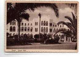 Lybie , Carte  Tripoli , Grand Hotel  1938  (45/46) - Libya
