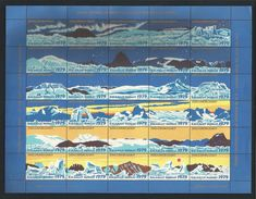 Greenland 1979 Christmas Seals Sheet  ** - Blocks & Sheetlets