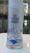 AC - YENI RAKI ISTANBUL BOSPHORUS BRIDGE GALATA TOWER ETC ILLUSTRATED GLASS FROM TURKEY - Glasses