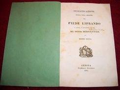 Scienza - Piede Liprando E Il Sistema Metrico 1842 RARO - Libri, Riviste, Fumetti