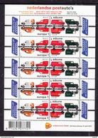 Nederland 2013 NVPH Nr 3055 + 3056 Mi Nr  3104 + 3105  Sheet  Europa Postauto's - Periode 1980-... (Beatrix)