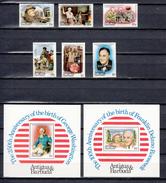 Barbuda Mail 1982,6V + 2 Blocks,american Presidents,MNH/Postfris(L3277) - George Washington