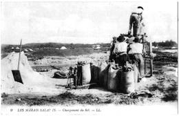 Guérande Loire Inférieure Chargement Sel Marais Salants 1914 état Superbe - Guérande