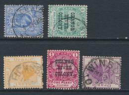 ORANGE FS, Postmarks Kroonstaf, Rouxville, Ficksburg, Fauresmith, Winburg - South Africa (...-1961)