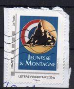 FRANCE - COLLECTORS - JEUNESSE ET MONTAGNE - Oblitéré - Sur Fragment - - Francia