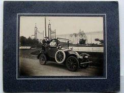 Foto D'epoca Auto 1917 Italiani Pecchioni Buenos Aires - Foto