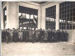Foto Inaugurazione Vittorio Emanuele III '30 Savoia - Fotografia