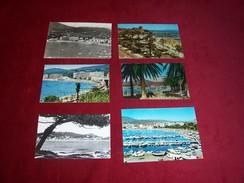 LOT  6 CARTES DE  POSTALES  DE SAINTE MAXIME  VAR  ( 83) - Sainte-Maxime