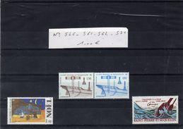 Lot Timbres - SAINT PIERRE ET MIQUELON - N° 546. 561. 562. 571. - - Collections, Lots & Series