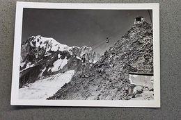 Foto Montagna Courmayeur 1950 - Arrivo Funivia - Non Classificati