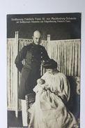 Fotocartolina Federico Francesco IV Di Meclemburgo-Schwerin Con Moglie 1908 Ca - Foto
