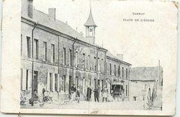 DEP 08 TANNAY PLACE DE L'EGLISE - Autres Communes