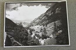 Foto Montagna Valle D'Aosta 1968  Panorama - Valtournenche - - Photographs
