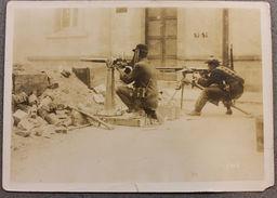 Foto Epoca - Mexico Rivoluzione Messicana 1910 - Artiglieria Strade Scontri  N.7 - Photos