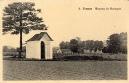 FRASNES-LEZ-BUISSENAL HAMEAU DE BOUTIGIES (CARTE GLACEE) - Frasnes-lez-Anvaing