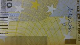 EURO BELGIUM 200 Z T002 A1 UNC DRAGHI LAST 1 - EURO