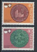 °°° SVIZZERA - Y&T N°1132/33 - 1981 MNH °°° - Schweiz